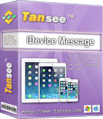 Tansee iDevice SMS & MMS & iMessage Transfer Free Download