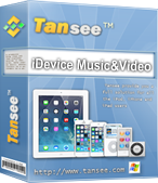 Tansee iOS Music/Video Transfer - Copy iDevice Music/Video to Computer