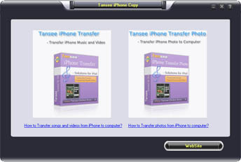 Tansee iPhone Song & Video & Photo Backup