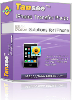 Tansee iPhone Transfer for transfer photo from iPhone to computer. Screen Shot